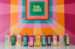 The GEM organic juice